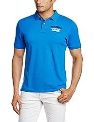 Wrangler Mens T-Shirt (8907222663254_W15045620A98_X-Large_Royal Blue)