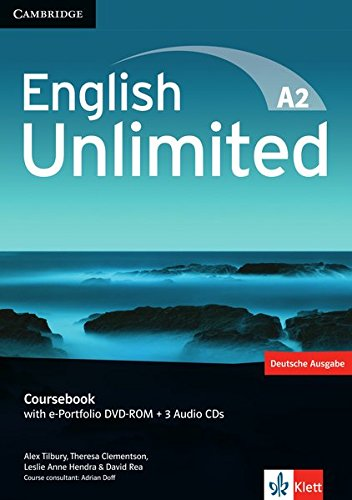 English Unlimited A2: Elementary. Coursebook with e-Portfolio DVD-ROM + 3 Audio-CDs