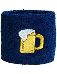 Schweißband Motiv Fahne / Flagge Bier + gratis Aufkleber, Flaggenfritze®