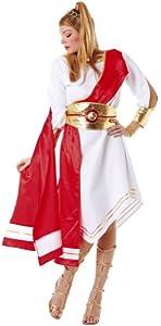 Hilka Cesar B354-004 - Disfraz de romana para mujer, talla 40