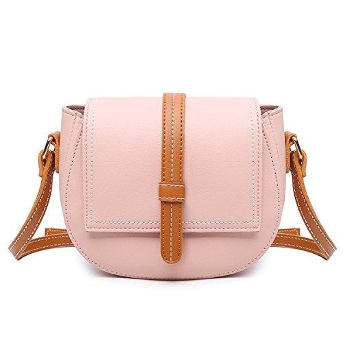 Damen Schultertasche Mädchen Kuriertasche Mode Kleine Tasche Tragbar Frauen Leicht Leicht Zu Tragen Mode Quaste Kreuz Paket Pink