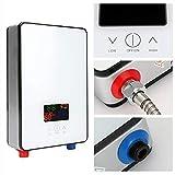 Aufee Scaldabagno Elettrico, 220V 6500W Doccia a Temperatura costante Senza Serbatoio, riscaldatore istantaneo istantaneo a Risparmio energetico per Il Bagno di casa