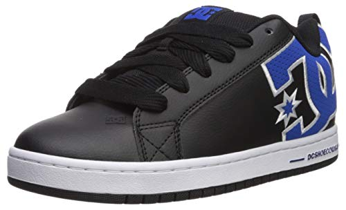 DC Men's Court Graffik Se Skate Shoe Black/Blue 17 M US - Dc Court Graffik Se Schuh