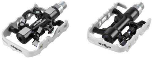 Wellgo Pedal City, Silber/Schwarz, 51534