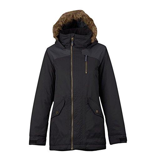 Burton Damen Hazel Jacket Snowboardjacke, Tru Blk/Tru Blk Dnm, S