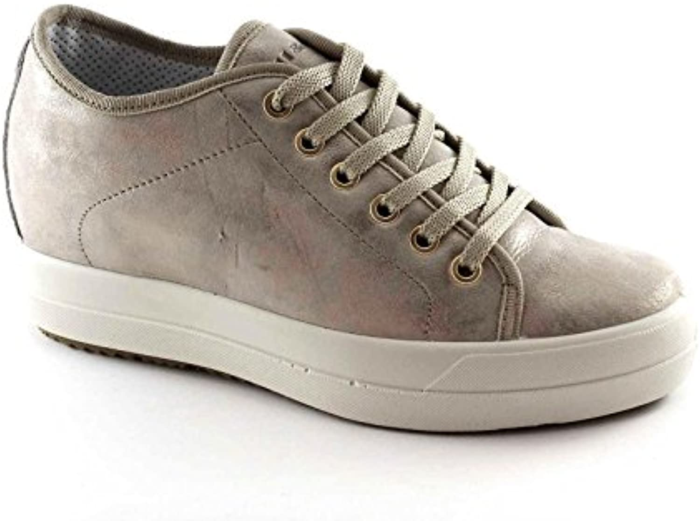 IGI&CO 77992 Taupe Scarpe Donna scarpe scarpe scarpe da ginnastica Lacci Pelle Zeppa Interna | Usato in durabilità  | Scolaro/Ragazze Scarpa  e69cc4
