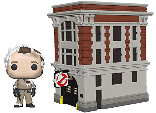 Funko 39454 POP! Vinyl: Movies: Ghostbusters: Peter w/House Town Collectible Figure, Multicolour