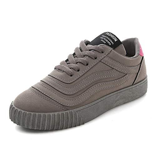Mujeres Casual Vulcanizado Zapatos Primavera otoño Zapatos Planos Cordones sneaskers Lona Zapatillas Zapatos Caminar Deportes Zapatos