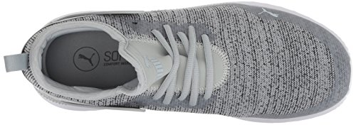 PUMA Men s Pacer Next Cage Knit Sneaker  Quarry-Iron gate  8 5 M US