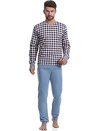 Timone Pijama Conjunto Camisetas y Pantalones Vestidos de Casa Hombre TI30-107