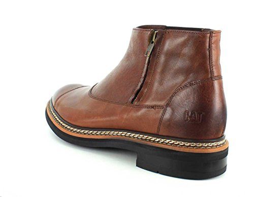 Caterpillar Mens Adner Chukka Boot Rust Full Grain Leather