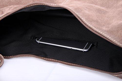 Slingbag Düsseldorf, Borsa tote donna Grigio grigio Für den Alltäglichen Gebrauch gut geeignet. Die Produktmaße entnehmen sie bitte aus den Produktdetails., blu (Grigio) - Ela II blau grigio
