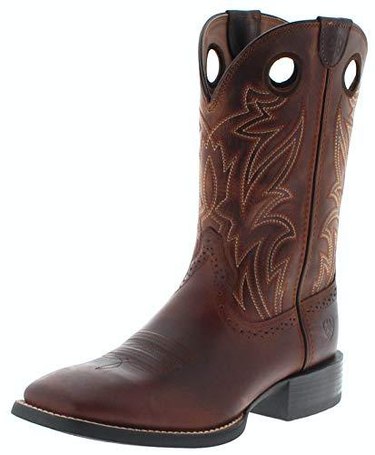 Ariat Herren Cowboy Stiefel 25131 Sport SIDEBET Westernreitstiefel Braun 43 EU -