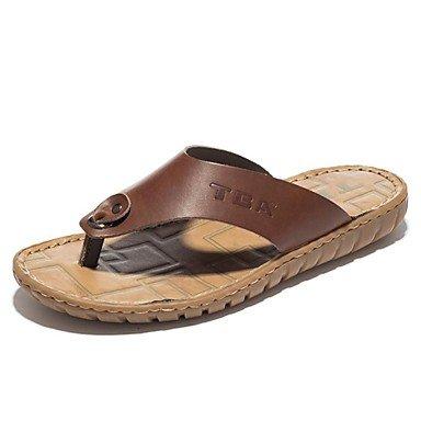 Scarpe da uomo in pelle Nappa Outdoor / Casual Outdoor / Casual Sandali Sport Tallone piano Vuoto-ou sandali US7.5 / EU39 / UK6.5 / CN40