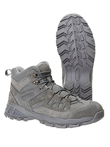 Brandit Mens Shoes Outdoor Trail Mid Anthracite