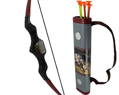 GYD Bow Shoot Set Ninja Bogen Spielset mit Köcher 6 Pfeile mit Saugnapf