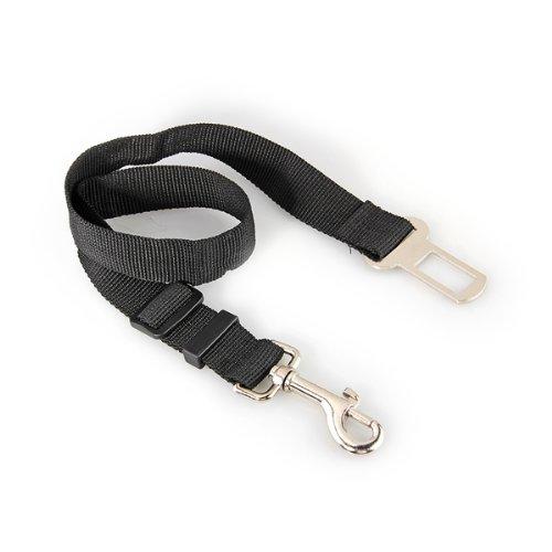 Auto Hunde Sicherheitsgurt Hundegurt Sicherheitsgeschirr Schwarz 2,5 x 70 cm - 3