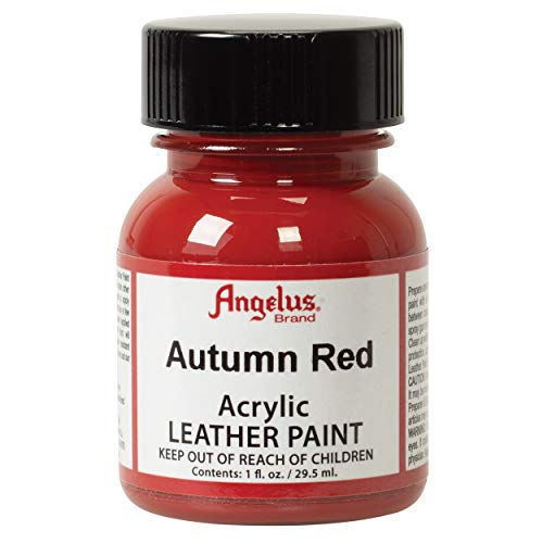 Angelus Leder Farbe 1 Oz Herbst-Rot