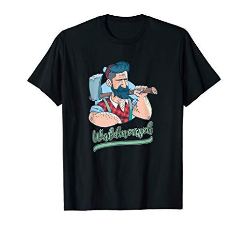 Holzfäller Frauen Kostüm - Forstwirt Spruch Lustig Holzfäller Lumberjack Förster Kostüm T-Shirt