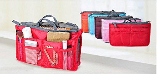 Travel Bag DOMIRE Handbag Organiser,Organizer Large Insert Orange