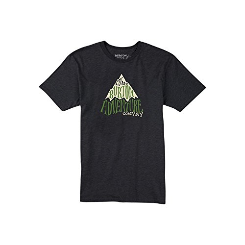 burton-camiseta-de-adventure-co-hombre-t-shirt-adventure-co-negro-jaspeado-xl
