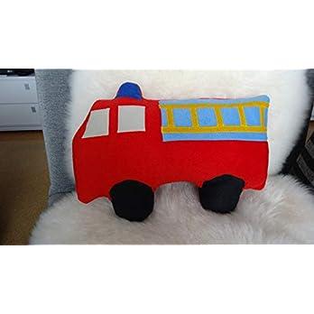 Kuschelkissen Feuerwehrauto