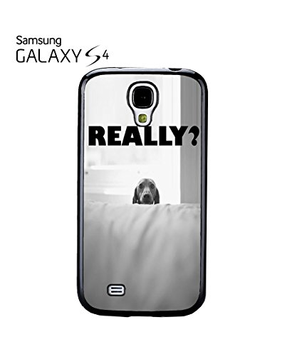 Cute Dog Really Funny Face Poor Quote Mobile Phone Case Samsung Galaxy S3 Black Noir
