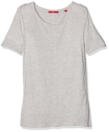 s.Oliver Damen T-Shirt Grau (grey Melange 94w0)