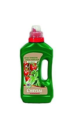 Chrysal Flüssigdünger Saftige Tomaten, würzige Kräuter, 500 ml von Chrysal - Du und dein Garten