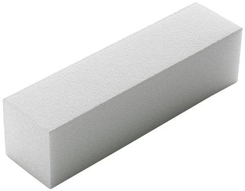 Bloc de ponçage blanc 220/240 Grains 4 voies pour une finition douce des ongles en acrylique The Edge