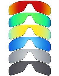 021375b0bf mryok 6 par de lentes de repuesto para Oakley turbina Rotor – Gafas de sol  polarizadas