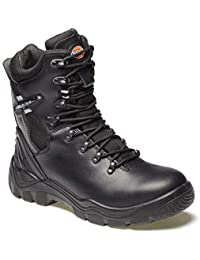 Dickies Men's Quebec S1-P Safety Boots - EN safety certified