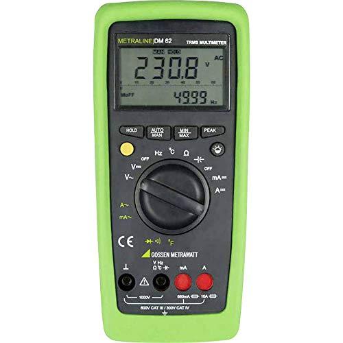 Gossen Metrawatt METRALINE DM 62 Hand-Multimeter digital CAT III 600 V, CAT IV 300V Anzeige (Counts)
