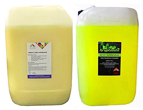 Wash & Wax Car Wash Schutz Glanz und professionelle Mehrzweck-Reiniger-2x 25L