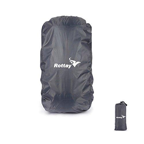 Coprizaino antipioggia-oxford-coprizaino impermeabile pioggia,rottay guaina impermeabile-zaino pioggia con sacchetto impermeabile protezione (70l,80l,90l)per escursionismo camping che viaggia attività all'aperto