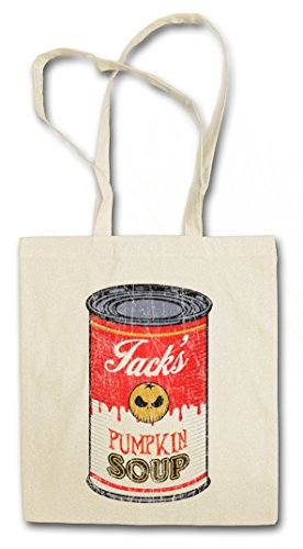 Urban Backwoods Jack's Pumpkin Soup I Hipster Bag Beutel Stofftasche Einkaufstasche