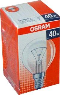 Glühbirne 40 Watt E14/SES Classic P Tropfenlampe Clas P CL 40 von Osram - Lampenhans.de