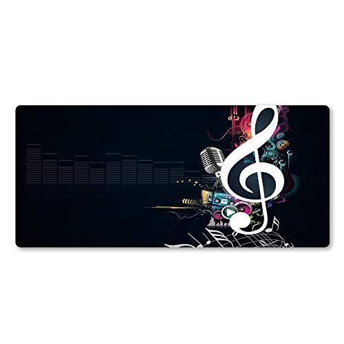 Musik mauspad Gummi Player persönlichkeit Neue Laptop Tastatur große tischset 3 800x300x2 (Green Ninjago Kostüm)