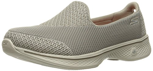 Skechers Women Go Walk 4-Propel Low-Top Sneakers, Beige (Tpe), 6 UK 39...