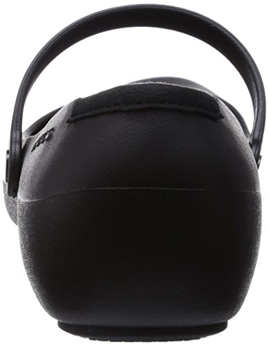 Crocs Alice Work, Ballerines femme Noir (Black)