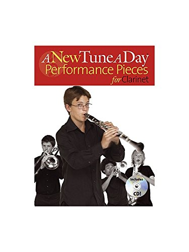 A New Tune A Day: Performance Pieces (Clarinet). Partitions, CD pour Clarinette(Symboles d'Accords)
