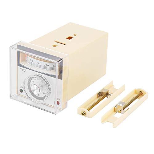Typ 0 Kostüm - Zeigertemperaturregler, 220VAC 0-400 ℃ TED-2001 Zeigertemperaturregler