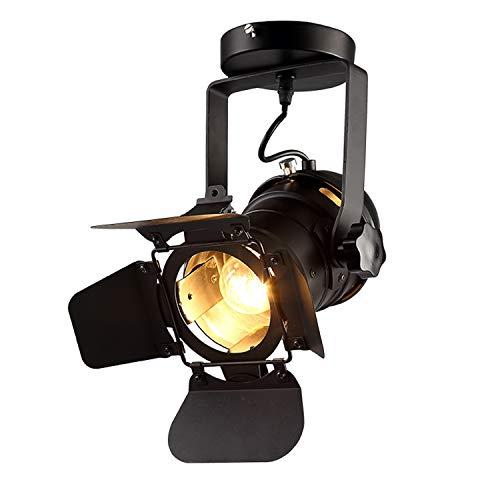Hobaca® 220v E27 L31 * W17 * H35cm Loft Decke Spots LED Scheinwerfer Rahmen Deckenleuchten Lampe Haus Beleuchtung 48