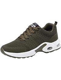 GNEDIAE Mujer Zapatillas de Senderismo Deportivas Aire Libre y Deportes Montaña y Asfalto Zapatos para Correr Running Malla Transpirable Casuales