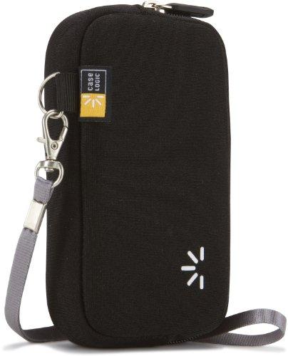 Case Logic UNZB3K Neoprene Pocket Video Case M Tasche für Pocket-Camcorder (mit Handgelenksschlaufe) schwarz