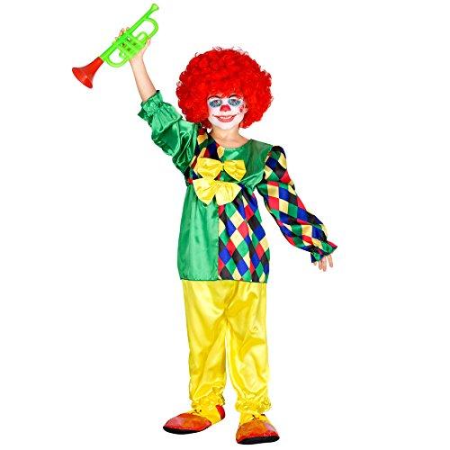 Mädchenkostüm Clowni Mimmi | Perfekte Clown-Verkleidung für Mädchen (7-8 Jahre | Nr. 300794) ()