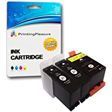 3 (1 SET + 1 BLACK) Compatible Dell Series 21 Ink Cartridges for Dell P513W P713W V313 V313W V513W V515W V51 V715W - Black/Colour, High Capacity