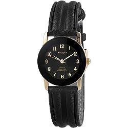 Akzent Damen-Uhren mit Polyurethan Lederband SS7301000023