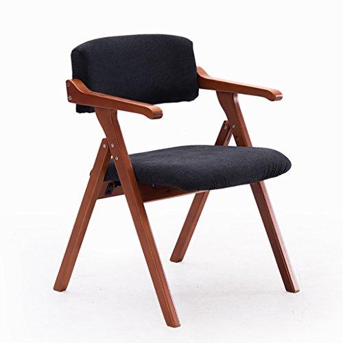 Hocker Nordic Minimalist Esszimmerstuhl Holz Handläufe Kreative Mit Klappstühle Schreibtisch Stuhl Konferenzstuhl Freizeit Stühle (55 * 57 * 78 cm) Stühle ( Farbe : E , größe : #2 )