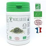 Minceur bio | 60 gélules | Complément alimentaire | Perte de Poids | Bioptimal - nutrition naturelle | Fabriqué en France